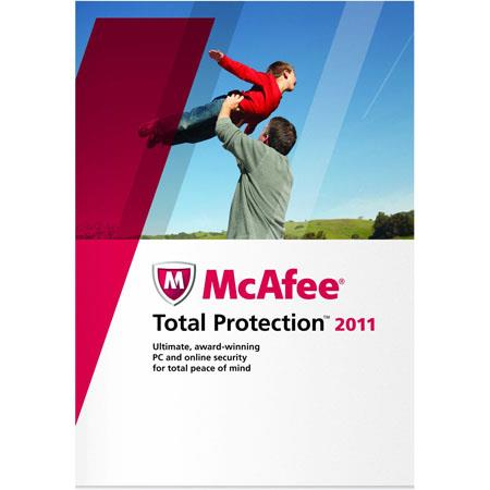 McAfee Total Protection 2011 Software for Windows, 1 User