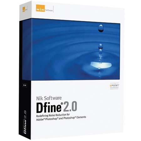 Nik Software Dfine 2.0, Plug-in Software for Image Editing Programs like Photoshop, for Macintosh & Windows. image