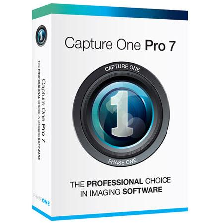 Phase One Capture One Pro 7 Raw Editing and Photo Management Software for Mac and Windows