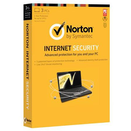 Norton Internet Security 2013 Software, 3 Users, Compatible with Windows Vista/XP/7/8