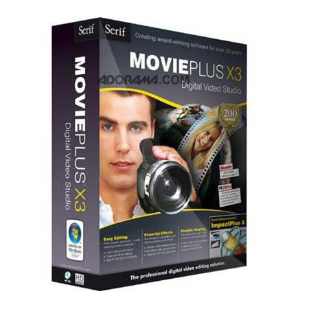 Serif MoviePlus X3 Student/Teacher Edition, All-in-One Digital Video Editing Solution for Windows