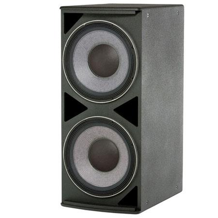 "JBL ASB6125 High Power Dual 15"" Subwoofer with 6400 W Peak Power Handling Capacity, Parallel/Discrete Switchable Input Mode, White"