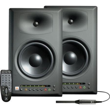 JBL LSR4328PAK230 Studio Monitors with RMC Calibration Kit, 230V AC (Europe Only)