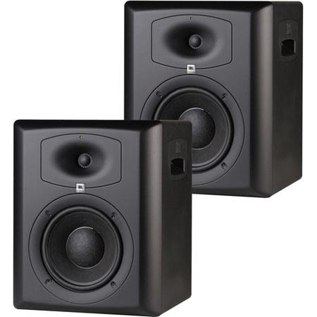 "JBL LSR6328P/PAK 8"" 2-Way Active Studio Monitors with RMC, Pair"