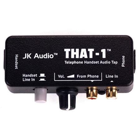 JK Audio THAT-1 Telephone Handset Audio Tap