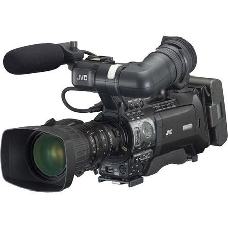 JVC GY-HM750U ProHD Compact Shoulder Solid State Camcorder with 14x Canon Lens, 82mm Filter Diameter, 1/3