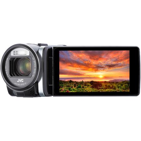 "JVC HD Everio GZ-GX1 3.5"" Camcorder with WiFi, 10MP, 1/2.3"" CMOS Sensor, 10x Optical/15x Dynamic/200x Digital Zoom, 29.5mm Wide Lens, Touchscreen"