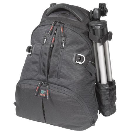 Kata DR-466i Digital Rucksack for Two DSLR with Mounted Lens, 3-4 Lenses, Flash, Tripod & Laptop, Black image