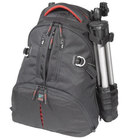 Kata DR-466i Digital Rucksack for Two DSLR with Mounted Lens, 3-4 Lenses, Flash, Tripod & Laptop, Red image
