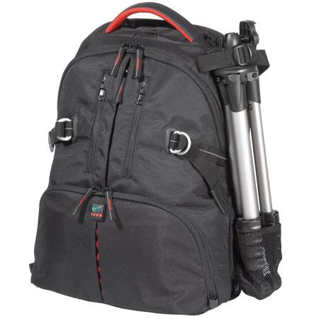 Kata DR-467i Digital Rucksack for Two DSLR with Mounted Lens, 3-4 Lenses, Flash, Tripod & Laptop, Red image