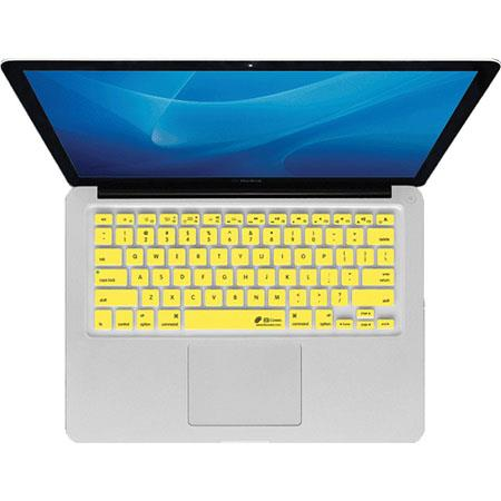 KB Covers CB-M Yellow Checkerboard Keyboard Cover for MacBook, MacBook Air & MacBook Pro (Unibody)