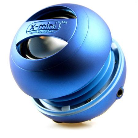 KB Covers X-mini II Capsule Speakers, 2.5 Watts Output, 100Hz - 20kHz Frequency Response, Blue