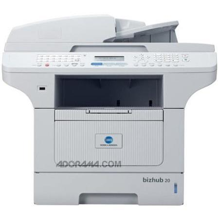 Konica Minolta A32R012 Bizhub 20 Multifunction Mono Laser Printer, 30,000 Pages Duty Cycle, 2400 x 600 dpi image