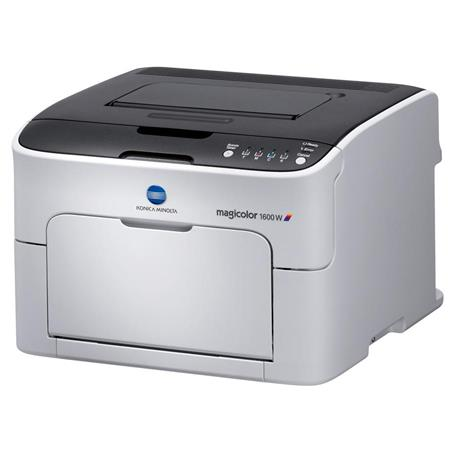 Konica Minolta 1600W Magicolor Color Laser Printer, 1200x600dpi, 20ppm Print Speed