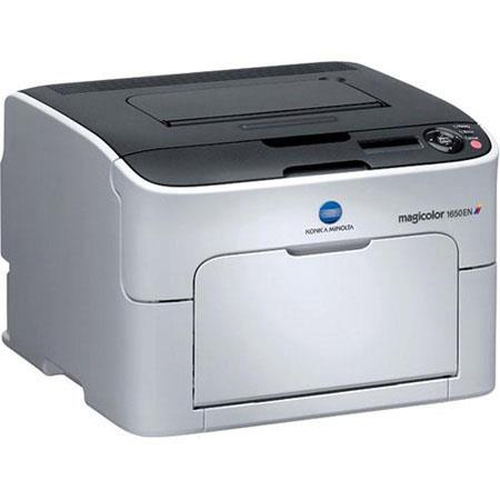Konica Minolta 1650EN Magicolor Color Laser Printer, 9600 x 600 dpi, 20ppm Print Speed image
