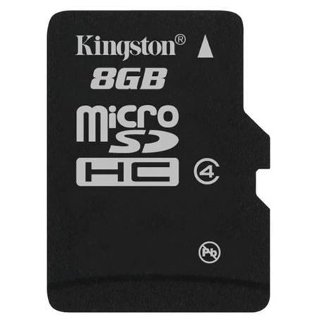 Kingston Technology 8 GB microSDHC Class 4 Flash Memory Card without Adapter image