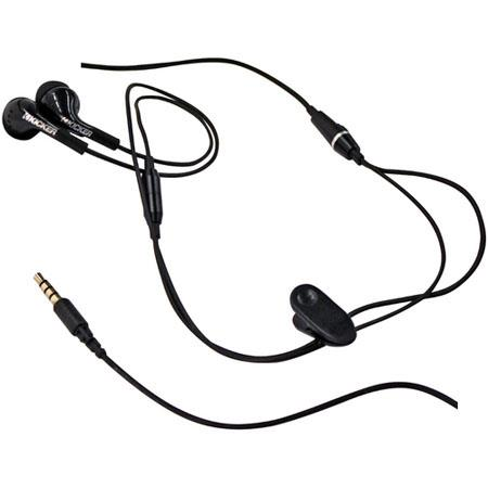 Kicker EB71MB In-Ear Stereo Headset with Microphone - Black