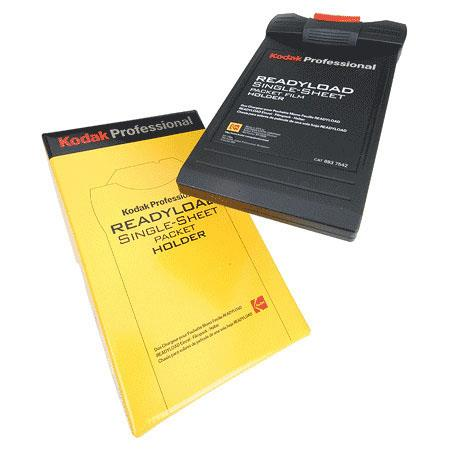Kodak Professional Readyload 4x5 Single-Sheet Packet Film Holder image