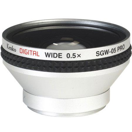Kenko 0.5x Hi Resolution Wide Angle Conversion Lens for Digital Video and Digital Still Cameras. image
