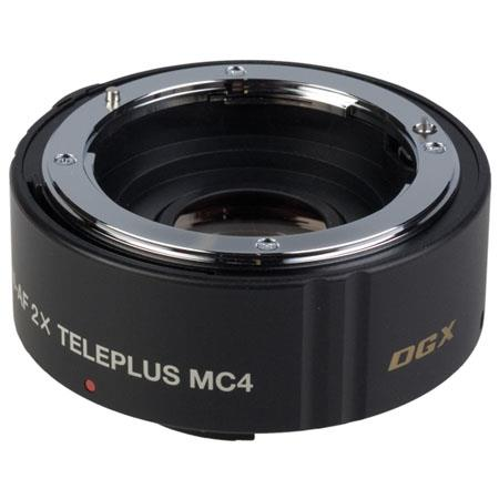 "Kenko TelePlus MC4 2x ""DGX"" 4-Element Teleconverter for Maxxum & Sony Alpha Mount."