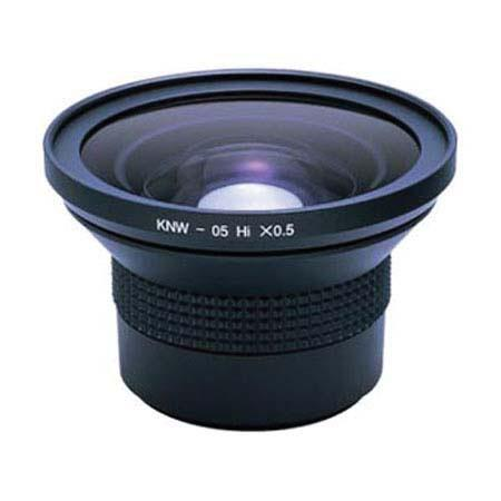 Kenko KNW05 0.5x Wide Angle Video Conversion Lens, 52mm with 49mm & 55mm Adaptors