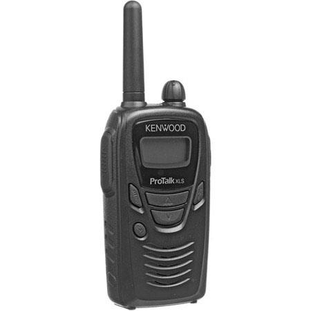 Kenwood ProTalk TK-3230XLS Portable Handheld Two-Way UHF Radio with LCD Display, 1.5Watts Output Power, 6 Channels, 461.037-469.562 MHz Frequencies