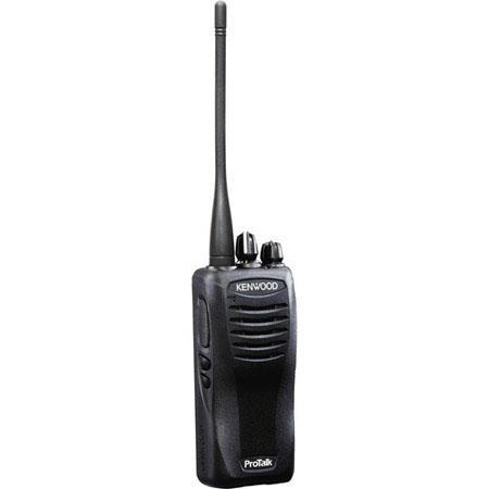 Kenwood TK-3400U16P Compact UHF FM 2W Portable Radio, 16-Channel, Wireless Cloning, FleetSync