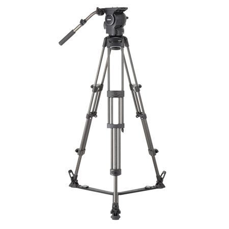 Libec RSP-750C Professional Carbon Tripod System for ENG Setups with RH-P75 Head, RT-50C Tripod, SP-2B Floor Spreader, RC-70...