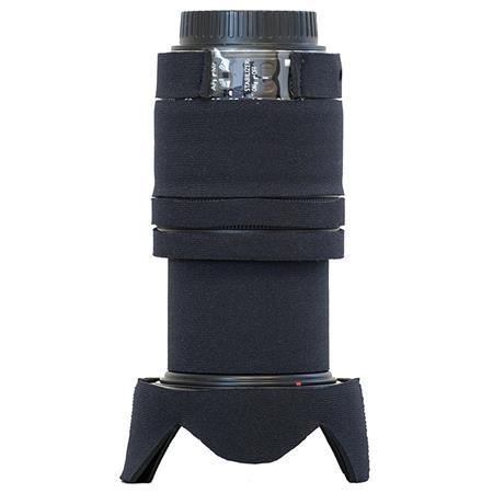 LensCoat Cover for Canon EF-S 18-135 IS STM Lens, Black