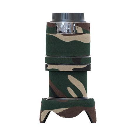 LensCoat Cover for Canon EF-S 18-135mm IS STM Lens, Forest Green