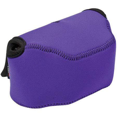 LensCoat BodyBag Point and Shoot Large Zoom, Purple