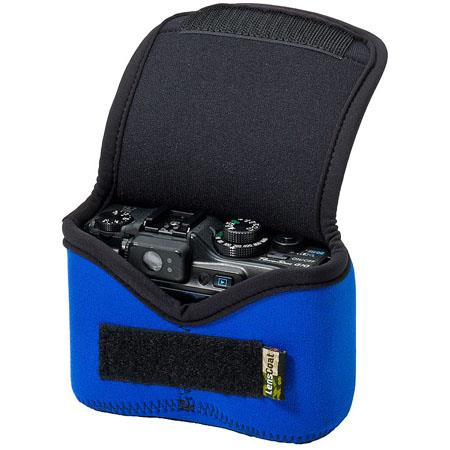 LensCoat Neoprene Body Bag Small, Designed for a Point & Shoot Camera - Blue
