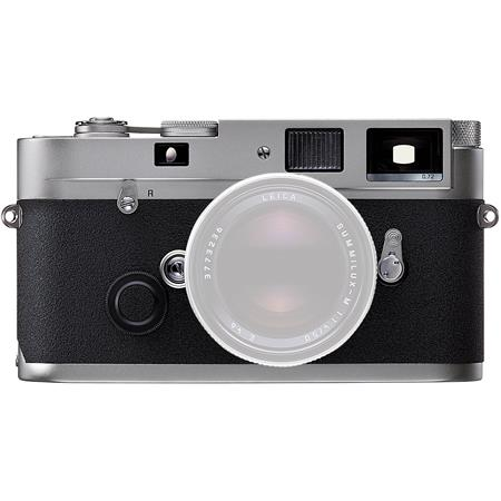 Leica MP 0.72 Silver Compact 35mm Rangefinder Camera Body with 0.72x Viewfinder Magnification - USA image