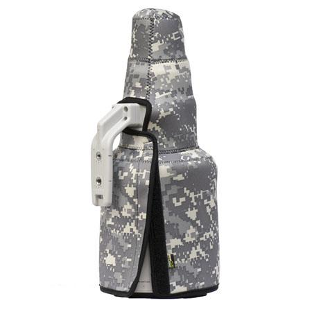 LensCoat TravelCoat Cover for Canon 500mm f/4 IS II Lens with Hood, Digital Camo