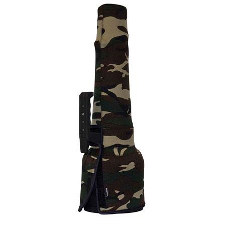 LensCoat TravelCoat Cover for Sigma 300-800 Lens, Forest Green Camo
