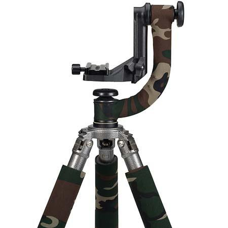 LensCoat Head Cover for the Wimberley WH-101 Tripod Head - Forest Green Woodland Camo
