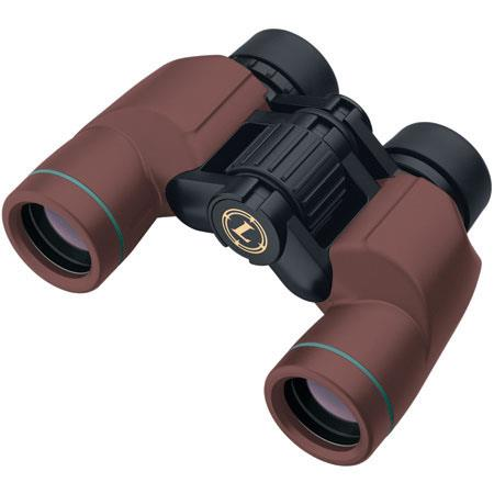 Leupold 6 x 30 Yosemite Green Ring, Lightweight Water Proof Porro Prism Binocular with 8.0 Degree Angle of View, Red, USA image
