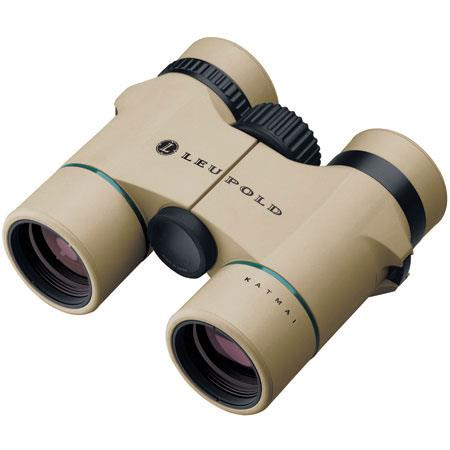 Leupold 8 x 32 Wind River Katmai, Water Proof Roof Prism Binocular with 6.4 Degree Angle of View, Color: Natural, U.S.A. image