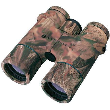 Leupold 8 x 42 Wind River Cascades, Water Proof Roof Prism Binocular with 6.5 Degree Angle of View, Camouflage Color, U.S.A. image