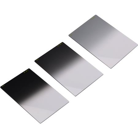 "Lee 4x6"" Neutral Density Graduated Soft Resin Filter Set (Graduate 0.3 ND Soft, 0.6 ND Soft, 0.9 ND Soft)"