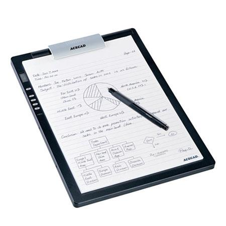 Solidtek ACECAD DigiMemo L2, Letter Size Digital Notepad with 32MB Memory and Tablet Combo