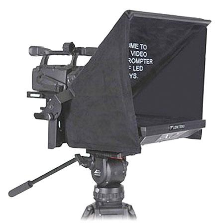 "Listec Teleprompters ENC-1717PT 17"" Entry-level VGA-Composite Studio Prompter for Traditional ENG Camera, 800:1 Contrast Ratio, 300 cd/m2 Brightness"