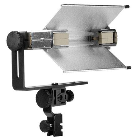Lowel V-Light Pak, V-Light Kit with V-Light Broad Quartz Light, 500 watt 120 volt GDA Lamp, Silver Tota-brella & Uni-Stand.