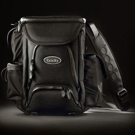 Boda V3 Lens Bag, Plum - Holds 4-5 lenses, flash equipment, 24 media cards, batteries, cell phone, water bottle & more image