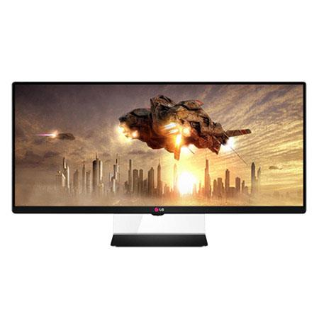 "LG Electronics 34UM65-P 34"" Class 21:9 UltraWide Full HD 1080p IPS Monitor, 21:9 Aspect Ratio, 1000:1 Contrast Ratio, 14ms Response Time, DVI-D/2HDMI"