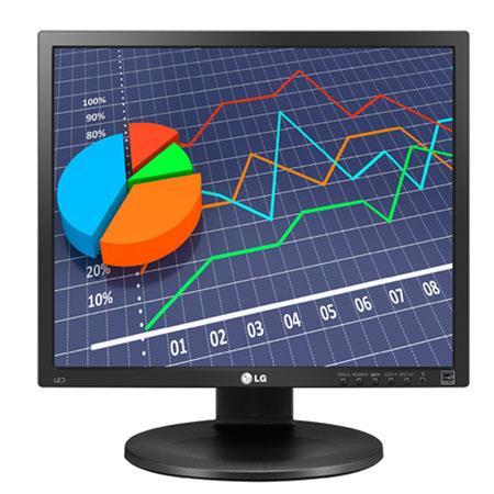 "LG Electronics 19MB35P-B 19"" IPS LED Monitor, 250cd/m2 Brightness, 1000:1 Contrast Ratio, 1280x1024 Native Resolution, 5ms Response Time"