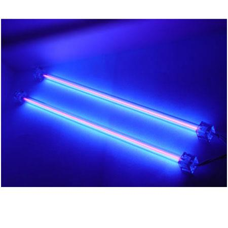 "Logisys CLK12 12"" Cold Cathode Kit with Dual Tube, 3.0mm Tube Diameter, UV"