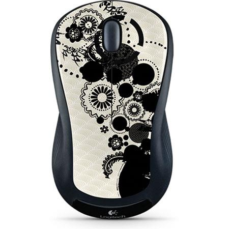 Logitech M310 Wireless Mouse, 2.4GHz Wireless Connectivity, USB Interface, Ink Gears