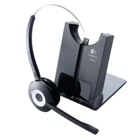 Logitech BH940 Wireless Mono DECT Noise Cancling Microphone Headset, Microsoft Lync Comparable
