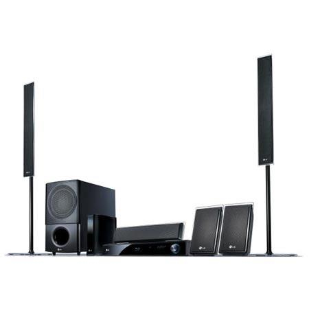 LG LHB975 Network Blu-ray Home Theatre System, 5.1ch, 1000W, 1 Disc BD HTS, 2 Tall Boy +2 Satellite, Netflix HD, 2 HDMI IN, DTS HD, Pandora Ready image